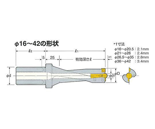 コンバットZドリル ST20-COMZ16.5-65