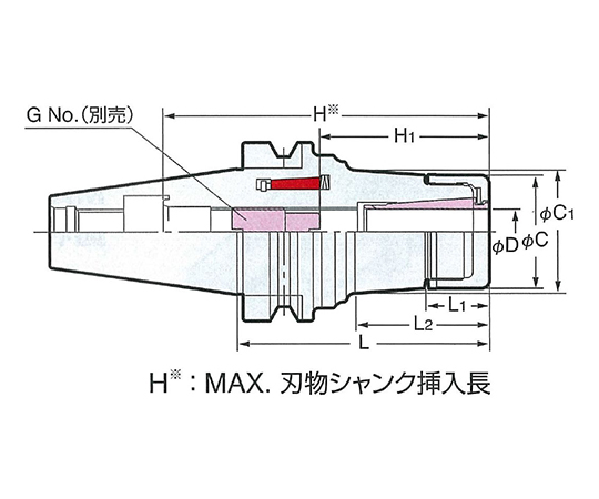 メジャードリームホルダ NBT40-MDSK6-60