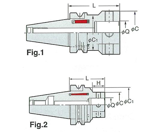 メジャードリームモジュラータイプベースホルダ NBT50-MDQ34-90