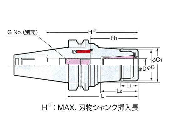 メジャードリームホルダ NBT50-MDSK25-105