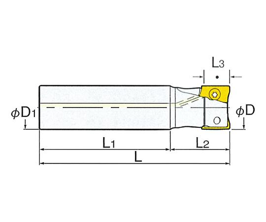 ストレートシャンクプロエンドミル S32-MDPE32-120