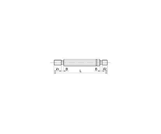 限界ねじプラグゲージ(旧JIS規格) M20P2.5 GP IIWP II 300540230