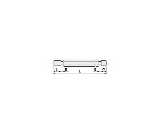 限界ねじプラグゲージ(ISO規格) M8X1.25-6H GPNP 305260210