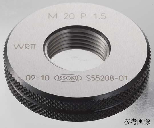 限界ねじリングゲージ(旧JIS規格) M12P1.0 GR II IR II