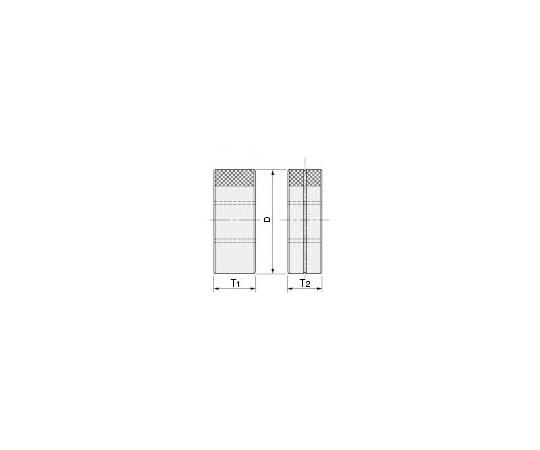 限界ねじリングゲージ(旧JIS規格) M2.5X0.45 GR II IR II 300141210