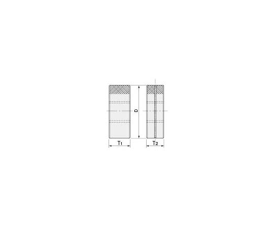 限界ねじリングゲージ(旧JIS規格) M2P0.4 GR II WR II