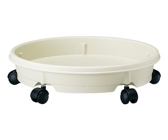キャスタープレート 28型鉢用 アイボリー