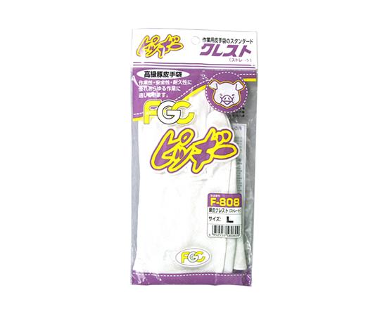 豚皮クレスト F-808 シロ L