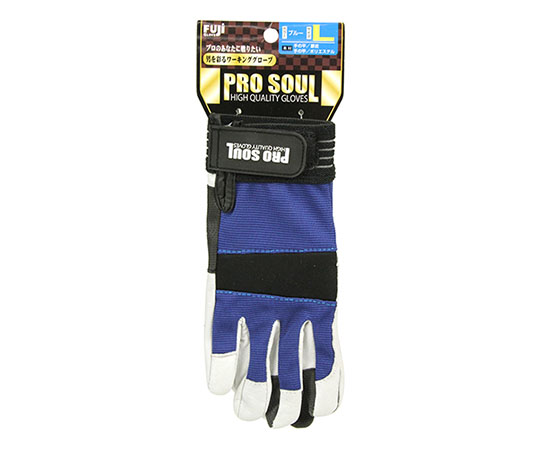 プロソウルPS-881 豚皮 ブルー L