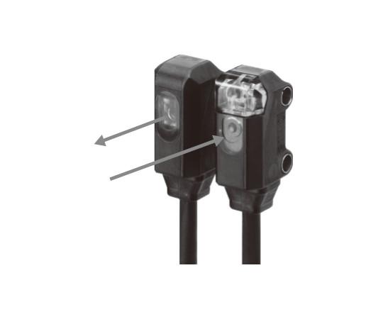 アンプ内蔵光電センサ(超小型・薄型) E3T E3T-ST13-ECON 0.3M