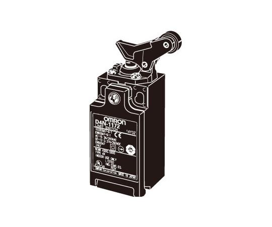 小形セーフティ・リミットスイッチ 2接点シリーズ(直接開路動作付き) D4N D4N-4172