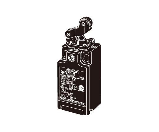 小形セーフティ・リミットスイッチ 2接点シリーズ(直接開路動作付き) D4N D4N-4162