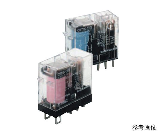 ミニパワーリレー (プラグイン端子タイプ) 動作表示灯内蔵型 G2R-2-SN AC100/(110)