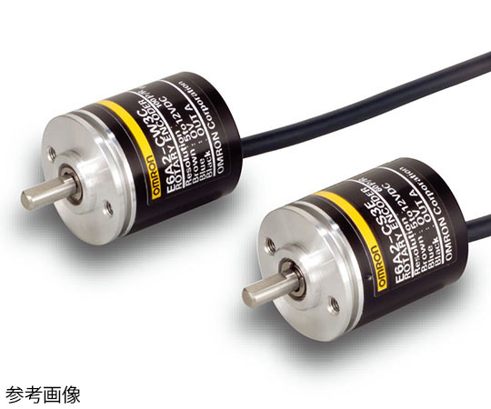 インクリメンタル形 外径Φ25 ロータリエンコーダ E6A2-C E6A2-CW5C 500P/R 2M