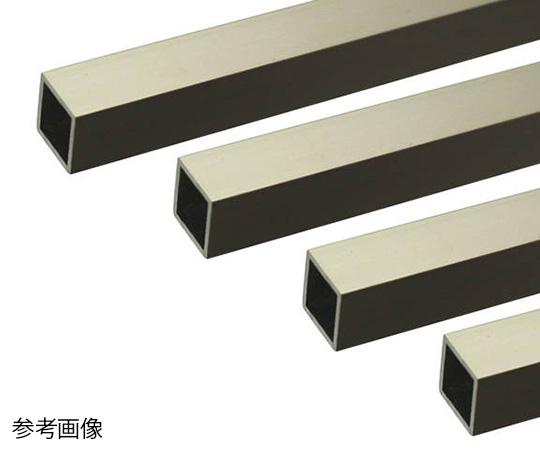 アルミ角パイプ 1m 1.0×10×10mm ステンカラー 4本組