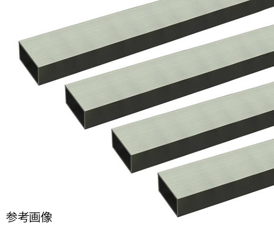 アルミ角パイプ 1m 1.5×10×15mm シルバー 4本組