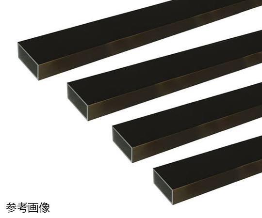 アルミ角パイプ 1m 2.0×40×60mm ブロンズ 4本組
