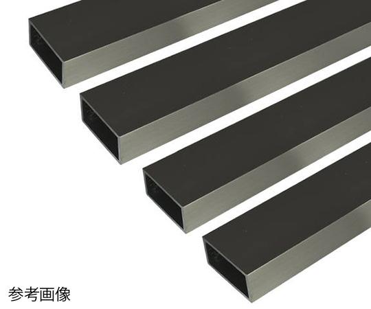 アルミ角パイプ 1m 2.0×25×50mm ステンカラー 4本組
