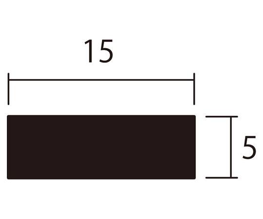 アルミ平棒 1m 5.0×15mm シルバー 4本組