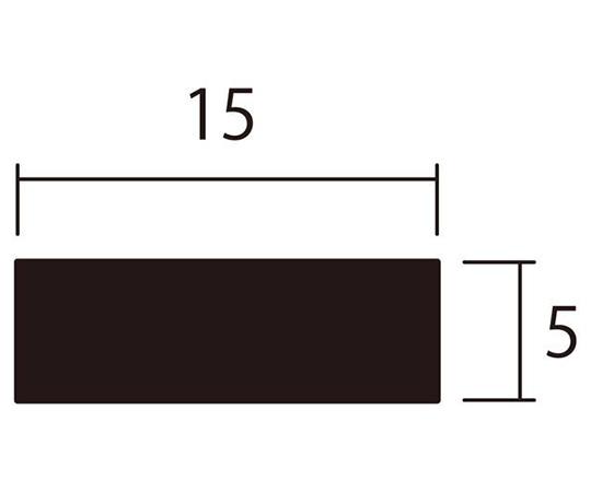 アルミ平棒 1m 5.0×20mm シルバー 4本組