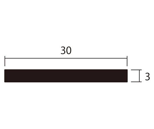 アルミ平棒 1m 3.0×30mm シルバー 4本組