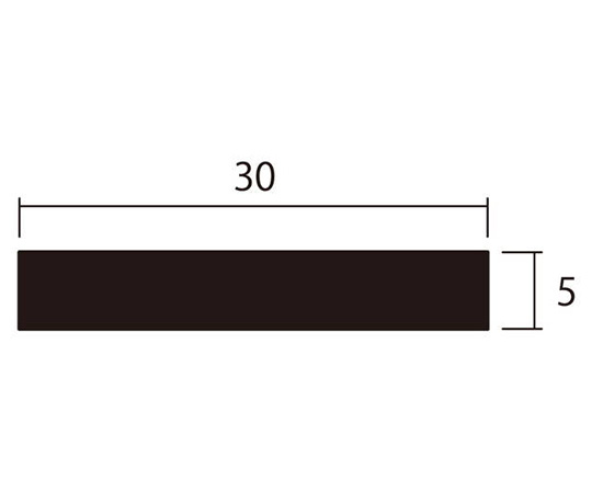 アルミ平棒 1m 5.0×30mm シルバー 4本組