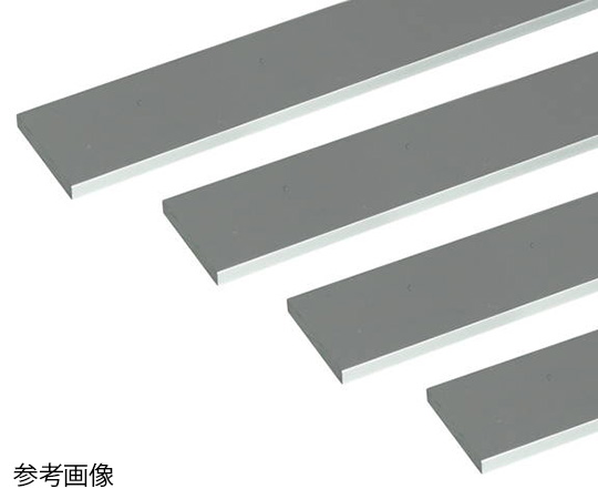 アルミ平棒 1m 4.0×50mm シルバー 4本組