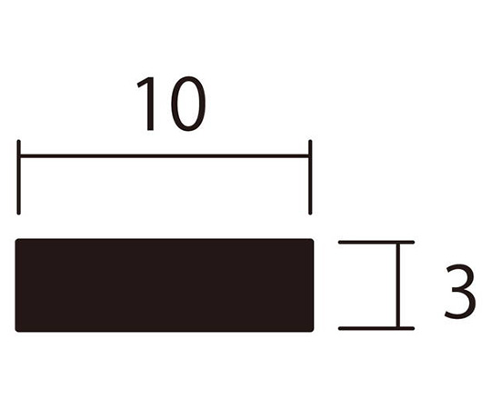 アルミ平棒 1m 3.0×10mm ブロンズ 4本組