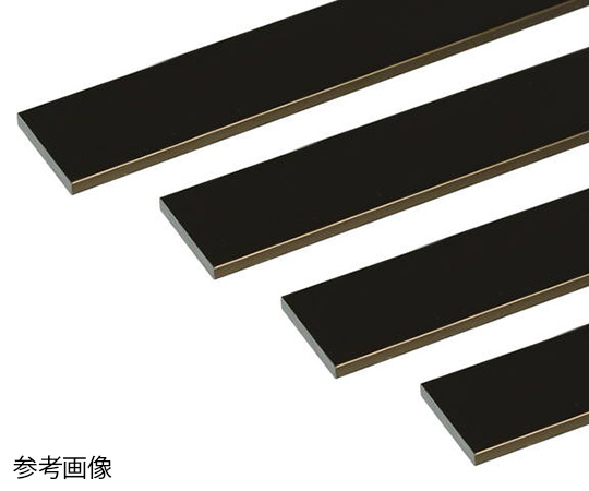 アルミ平棒 1m 2.0×15mm ブロンズ 4本組