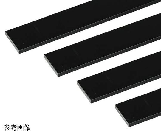 アルミ平棒 1m 3.0×20mm ブラック 4本組