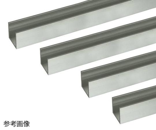 アルミチャンネル 1m 1.0×10×10mm シルバー 4本組