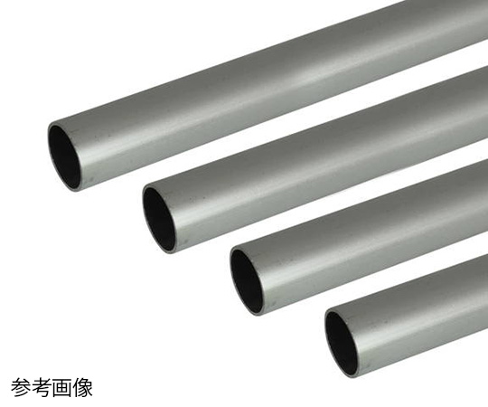 アルミ丸パイプ 1m 2.0×20mm シルバー 4本組