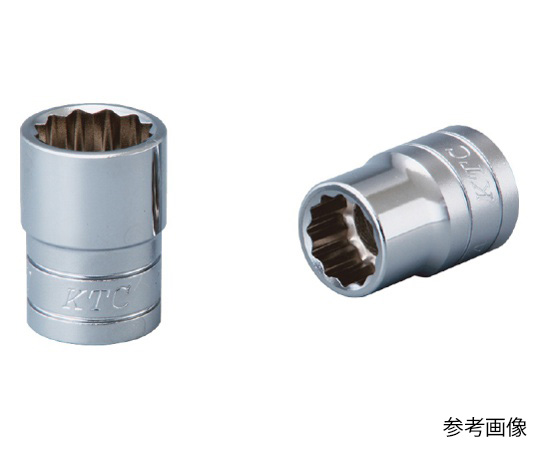 12.7sq.ソケット(12角)9mm B4-09W