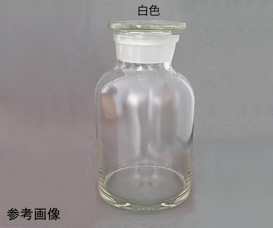広口共栓試薬瓶 (白色)