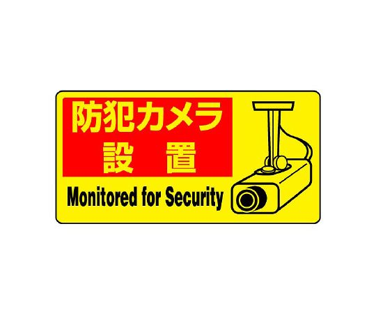 802-64 防犯用ステッカー防犯カメラ