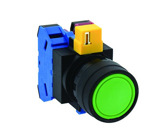 押ボタンスイッチ 黒 HW1B-M110B