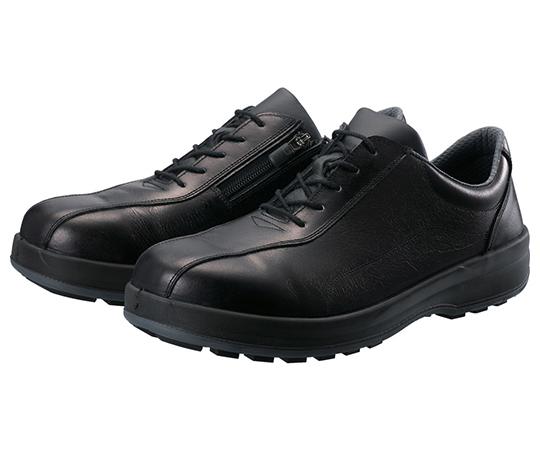 耐滑・軽量3層底安全短靴8512黒C付