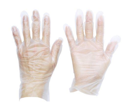[受注停止]熱可塑性エラストマー (TPE) 使い捨て手袋L 100枚 TGTPE035L