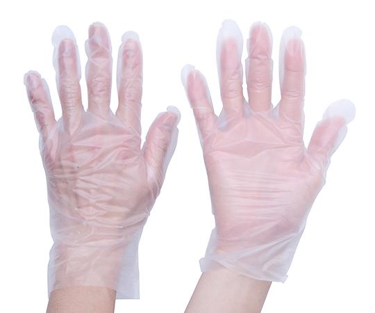 熱可塑性エラストマー (TPE) 使い捨て手袋M 100枚 TGTPE035M