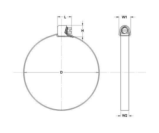 マルチバンド 11mm幅 10m 1本 MB1701