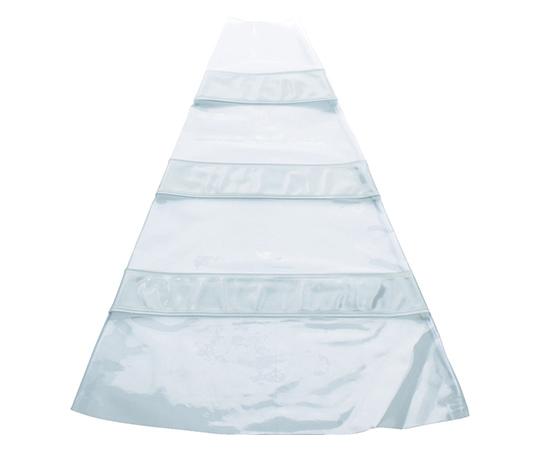 安全コーン用反射材後付けカバー 反射材白
