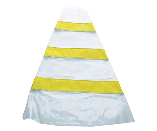 安全コーン用反射材後付けカバー 反射材黄色 TACC700Y