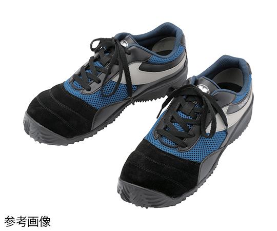 屈曲作業向けプロスニーカー TS-110N黒/ブルー