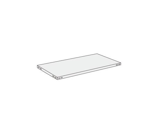 ショップラック用オプション棚板 ホワイト SHRシリーズ