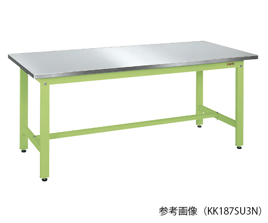 軽量作業台・KSタイプ (ステンレスカブセ天板)