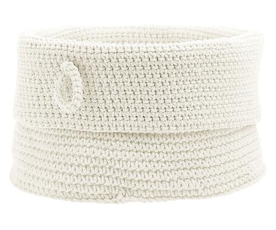 バスアメニィティバスケット(L) 851681 ホワイト