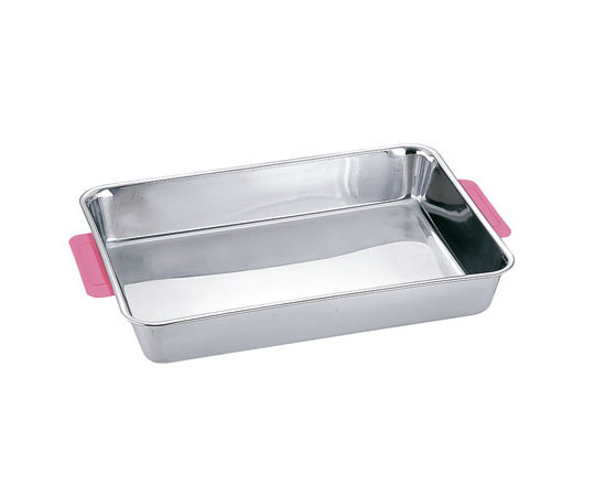 カラーハンドル角バット 6枚取 ピンク