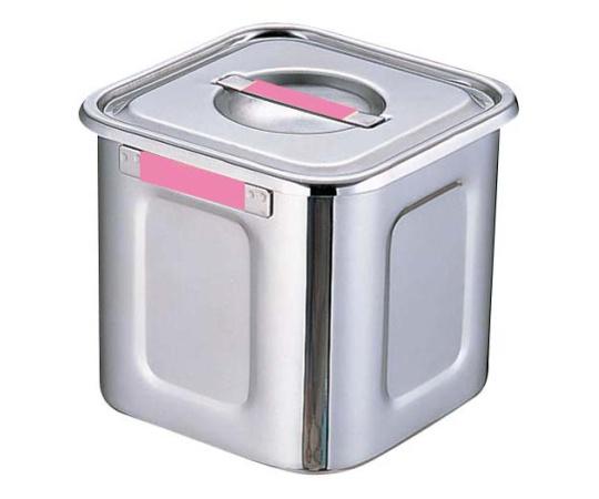 角キッチンポット 15cm ピンク
