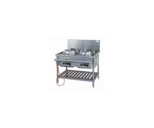 ガス中華レンジ(内部炎口式) VCR-100 LPガス DLV6703