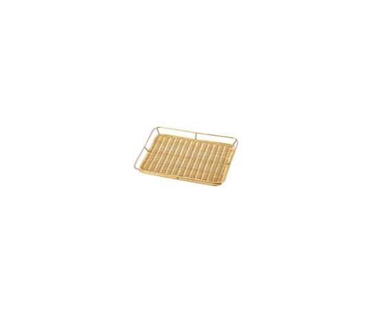 籐製メタリック ワクつきすのこ浅型 (ゴールドメッキ)PF-68G